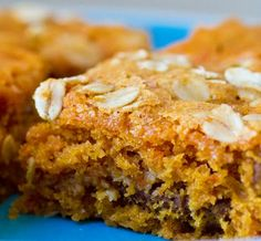 Vegan Breakfast Carrot Cake Bars