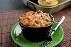 Bacon and brie mac and cheese!