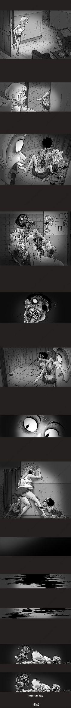 Silent Horror chap 236: Ống thoát nước
