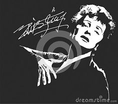 edith-piaf-france-s-national-chanteuse-one-country-s-most-widely-known-international-stars France, Stars, Country, Illustration, Movie Posters, Movies, Rural Area, Films, Film Poster