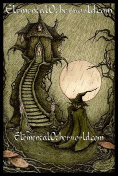 Goblin Mage  Hand signed A4 PRINT of my by ElementalOtherworld, £8.00