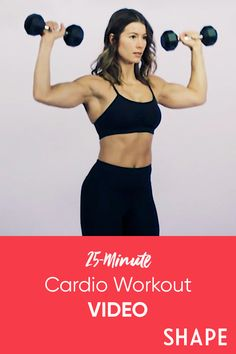 This 25-minute total-body circuit will leave your lungs and muscles equally burned. #athomeworkout #cardio