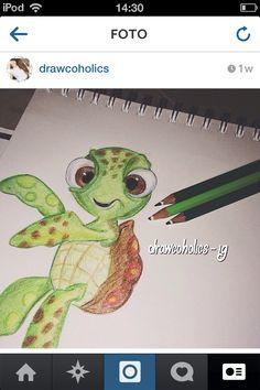 Drawing turtle