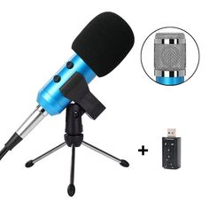 Tonor TN120439BU 3.5mm Condenser Microphone