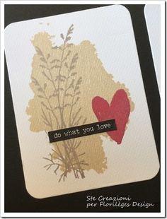 Card Project Life - Timbri Florilèges Design Collezione 2016 Hello Watercolor