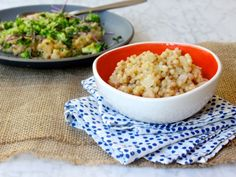 Try this low-sodium risotto-style coconut couscous tonight for dinner! #recipe