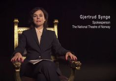 """The State of Israel is """"demanding the Norwegian National Theater clearly renounce the video and remove it from all sites immediately."""""""