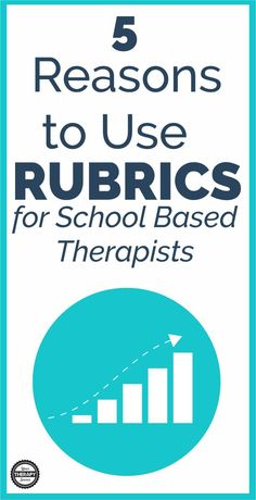 Rubrics for school based therapists are an excellent tool to utilize throughout the school year for ongoing assessment of a student's skills. Occupational Therapy Schools, Pediatric Occupational Therapy, Pediatric Ot, School Ot, School Stuff, Physical Therapy Exercises, Teaching Writing, Speech And Language, Rubrics