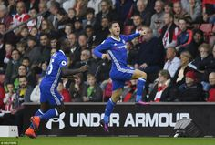 The game had barely begun before Chelsea, as they had against Manchester United, scored early on through Hazard