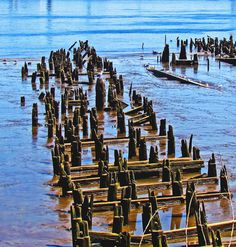 Remains Of Old Docks & Piers | Love's Photo Album