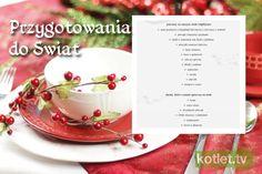 Przygotowania do świąt. Kiedy co ugotować Ale, Panna Cotta, Xmas, Christmas, Place Card Holders, Tableware, Ethnic Recipes, Food, Polish