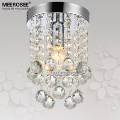 Find More Chandeliers Information about 1 light Crystal Chandelier Light Fixture…
