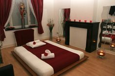 massage room images | during the massage a refreshing shower before and after the massage ...