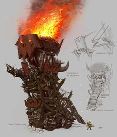 Warhammer Online: Age of Reckoning - Artwork Fantasy Battle, Medieval Fantasy, Goblin, Larp, Troll, Warhammer Online, Orks 40k, Warhammer Fantasy, Warhammer Aos