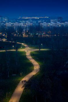 Limanski park, Novi Sad, Serbia