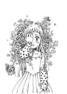 𝓛𝓲𝓷 - Nanatsu no Taizai (Elizabeth) Elizabeth Seven Deadly Sins, Seven Deadly Sins Anime, 7 Deadly Sins, Meliodas And Elizabeth, Elizabeth Liones, Kaze No Stigma, Manga Anime, Anime Art, Image Mix