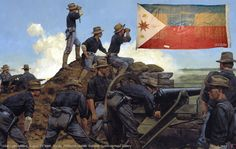 american artillery in action art prints world war 2 - Bing Images The Spanish American War, American Civil War, American History, American Soldiers, Military Art, Military History, Military Uniforms, Guerra Hispano-americana, Pictures Of Soldiers