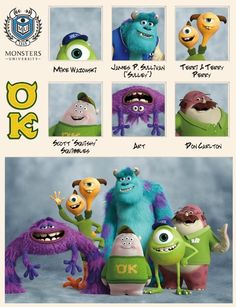 OOZMA KAPPA (OK) #MonstersUniversity