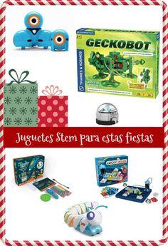 Algunas ideas para los regalos en estas fiestas. Estos juguetes STEM son una buena opción.