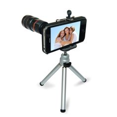 iPhone Eye Scope attaches to a Smart Phone to add a high-powered zoom lens capable of capturing amazingly detailed images. If Dad likes to take pictures with his phone then he may really like this.