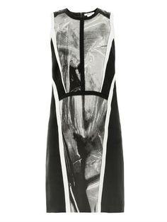 Contrast-panel sleeveless dress | Helmut Lang | MATCHESFASHION...