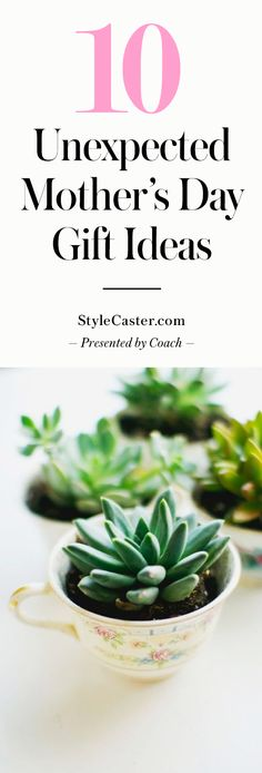 10 Creative Mother's Day Gift Ideas | Easy DIY handmade gifts and unique finds your mom will LOVE @stylecaster