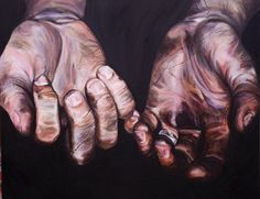 Coal miners hands ......