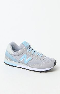 New Balance 515 Modern Classics Running Sneakers - Womens Shoes - Grey/Blue from PacSun. Saved to Things I want as gifts.
