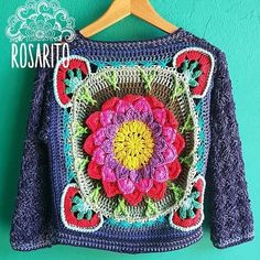 Crochet Jumper, Diy Crochet And Knitting, Crochet Blouse, Love Crochet, Irish Crochet, Crochet Clothes, Crochet Stitches, Crochet Lingerie, Knitting Patterns
