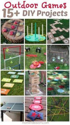 diy outdoor games perfect for backyard fun, crafts, outdoor living