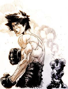 Bruce... #art #martial arts #brucelee