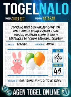 Pools JP 3D Togel Wap Online TogelNalo Mataram 30 Mei 2017