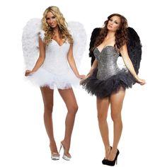 Ultra Deluxe Signature Angel Costume for Women Sexy Adult Halloween Fancy Dress | #Halloween