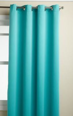Lorraine Home Fashions Carnivale 53-inch x 84-inch Blackout Panel, Turquoise by Lorraine Home Fashions. Save 10 Off!. $26.99. Measures 53-Inch by 84-Inch. Measures 53-inch x 84-inch. Fabric content: 100-percent polyester. Machine wash, warm water, gentle cycle; do not bleach; line dry; warm iron if necessary;. Reduced energy costs, reduced noise, ensured privacy and a peaceful sleep day or night are all benefits of this heavy weight, room darkening, insulating grommet top triple weav...