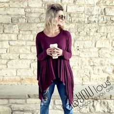 Love this flowy tunic at shopfabYOUlous!
