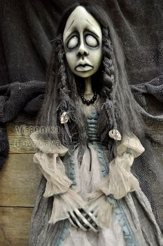 Gothic art doll Rowana the witch by VeronikaLozovaya