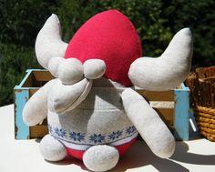 Free Shipping Handmade Socks Viking Toy Home Decor by RageRabbit