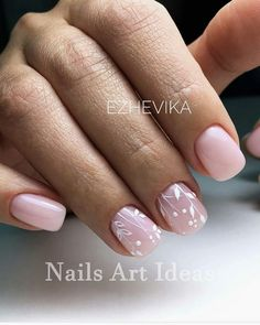 White Nails And Artistic Nail Styles 1 In 2019 Art Design Gel . Perfect Nails, Gorgeous Nails, Nude Nails, White Nails, Spring Nails, Summer Nails, Nagellack Design, Short Gel Nails, Prom Nails