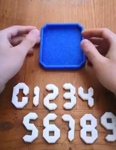 3D numbers puzzle brain teaser game toy educational kids gift Brain Teaser Games, Brain Teasers, Kids Education, Gifts For Kids, 3d Printing, Numbers, Puzzle, Messages, Toys