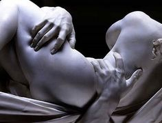 Bernini - Detail from Pluto and Persephone.  Can you believe this is marble??