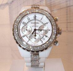 diamond chanel watch. i want it!