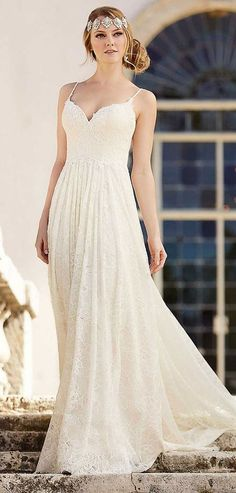 romantic wedding dress from the Martina Liana collection