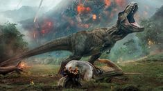 New picture for Jurassic World You have never seen the Jurassic Park series like this! Movierulz Jurassic World: Dominion not only shows the well-known tropical islands, but also rather unusual climates for the Dino series. Jurassic World Movie, Jurassic Park Series, Jurassic World Fallen Kingdom, Bryce Dallas Howard, Falling Kingdoms, Chris Pratt, World Pictures, New Pictures, Dinosaurs Extinction