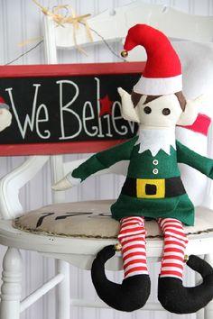 Christmas Elf Sewing Pattern from Bernina