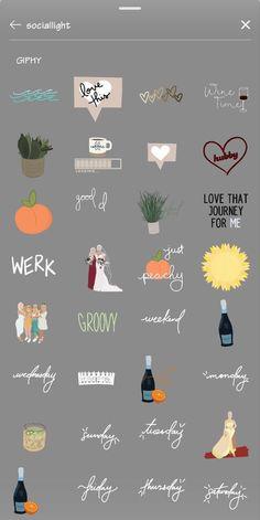 Instagram Emoji, Iphone Instagram, Instagram And Snapchat, Instagram Quotes, Snapchat Logo, Instagram Editing Apps, Ideas For Instagram Photos, Creative Instagram Photo Ideas, Instagram Story Filters