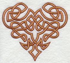 Corazón anudado celta