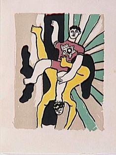 "The album ""Circus"" by @artistleger #fineart #arthistory"