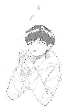 still in the learning stage💫 . Kim Jaehwan, Fine Art Photo, Kpop Fanart, Cute Anime Guys, Jaehwan Wanna One, Love Art, My Idol, Art Reference, Manga Anime