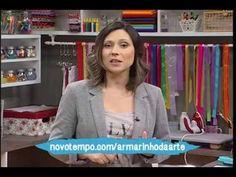 Mulher.com 28/04/2015 Juh Lemes - Pantufa em E.V.A. para dia das mães - YouTube