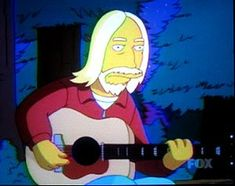 Tom Petty on the Simpsons
